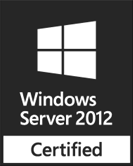 Certified for Windows Sever 2012