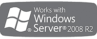 Works With Windows Server 2008 R2