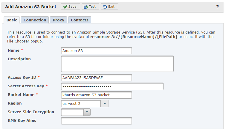 Amazon S3 Resource