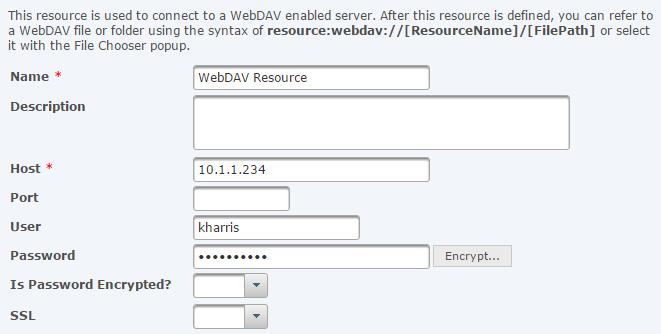 WebDAV Resource
