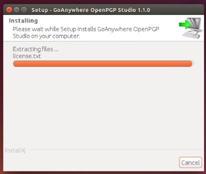 Linux/Unix Installation - GoAnywhere Open PGP Studio