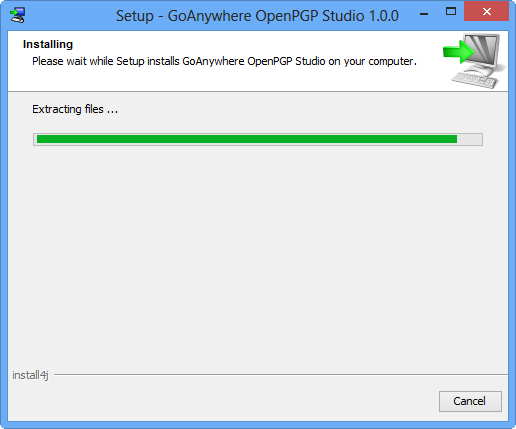 Windows Installation - GoAnywhere OpenPGP Studio