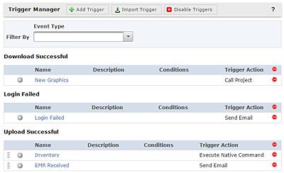 Trigger Manager