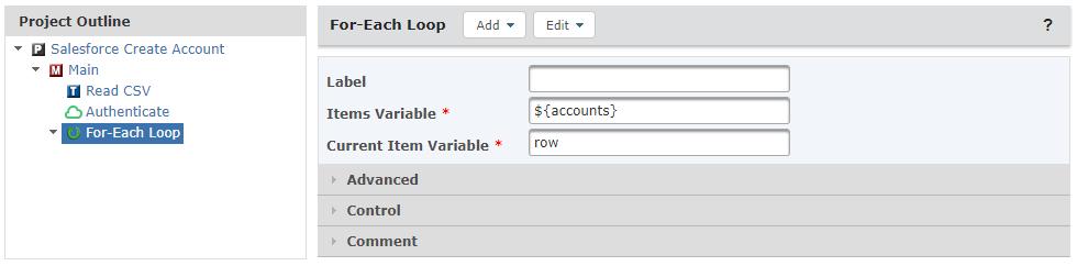 For-Each Loop Task
