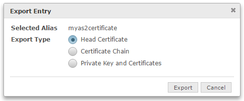 AS2 Head Certificate