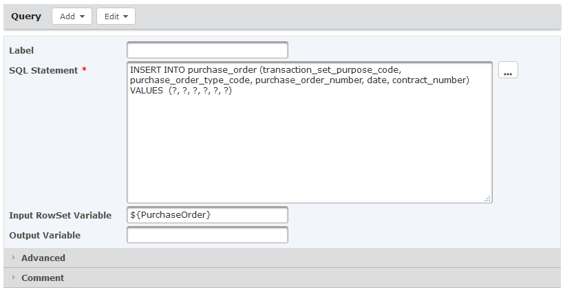 SQL Query Statement