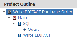 Write EDIFACT Project Outline