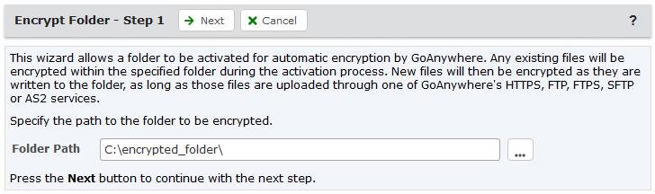 Encrypted Folders
