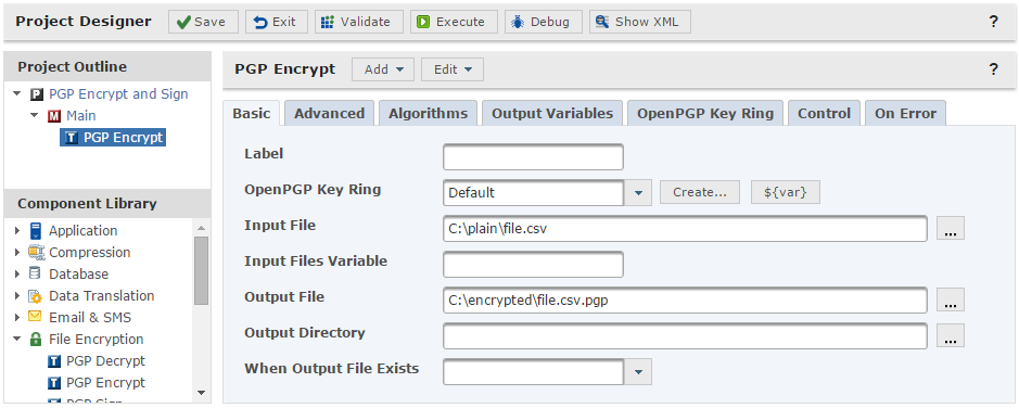 how to use pgp public key