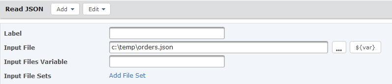 Read JSON Task Attributes