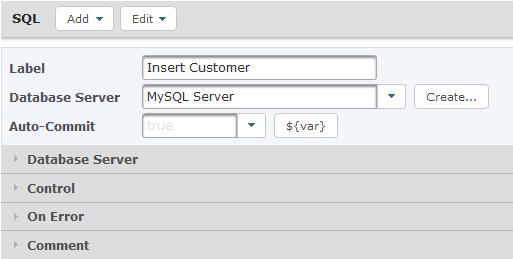 SQL Task Attributes
