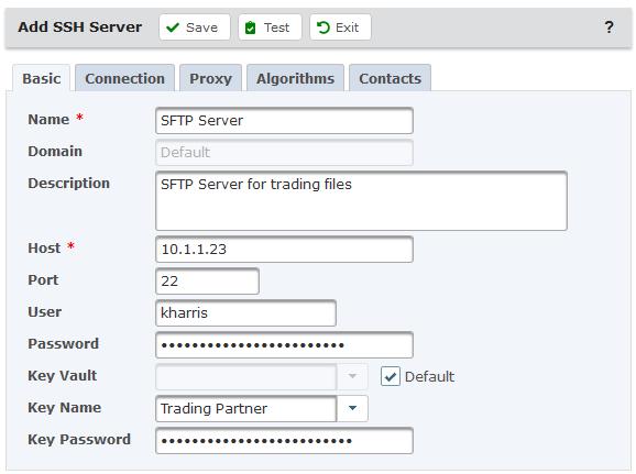 SSH Server Resource
