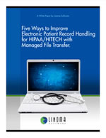 Five Ways to Improve ePHI for HIPAA/HITECH with MFT