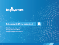 Discover what the experts say about today's top cybersecurity myths
