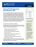 GoAnywhere MFT PCI Compliance Guide