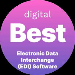 Digital.com Best Electronic Data Interchange (EDI) Software badge