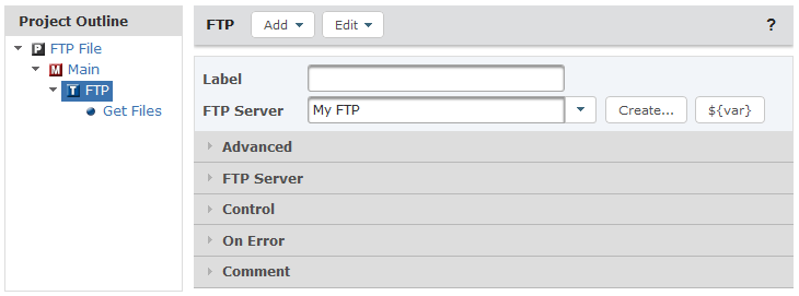 Free FTP Client automates file transfers and guarantees delivery.