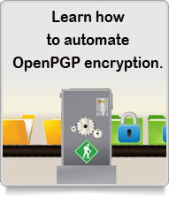 Automate Open PGP Encryption