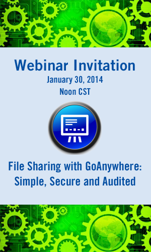 GoAnywhere File Sharing Webinar