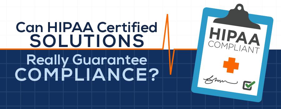 achieving HIPAA compliance