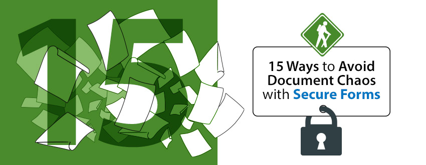 organize received documents with secure forms