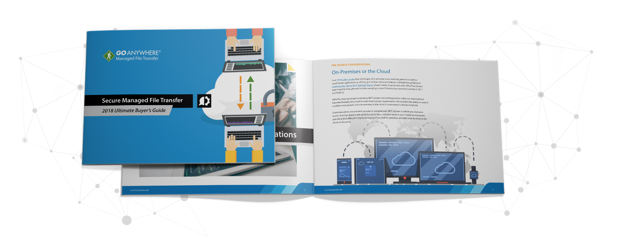 2018 guide to buying a secure MFT solution