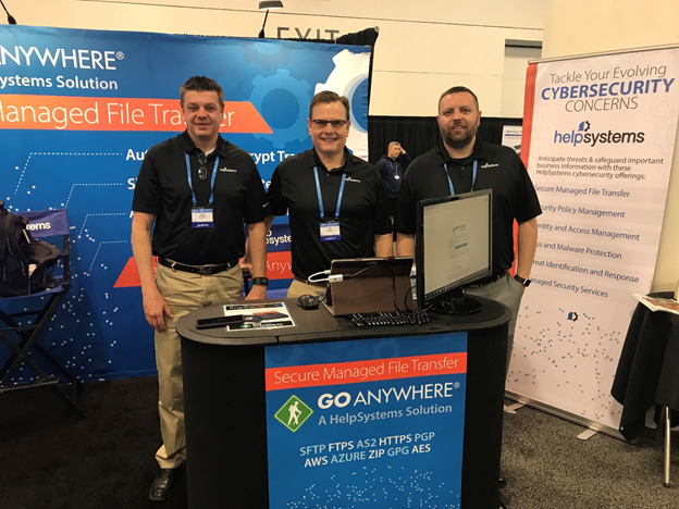 The GoAnywhere team at RSA 2018