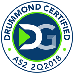 Drummond certified for AS2 file transfers