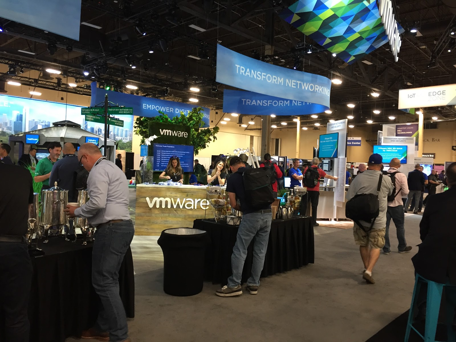 VMworld 2018 exhibit hall