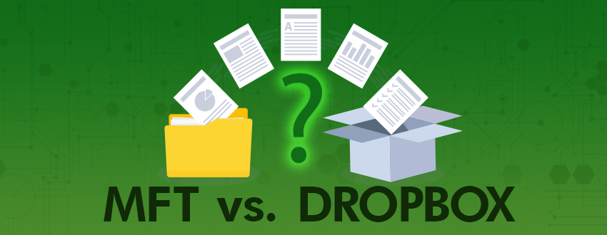 Is Dropbox or MFT better for secure file collaboration?