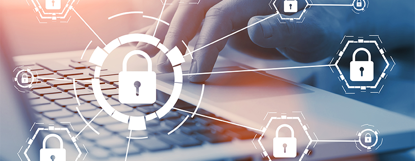 cybersecurity professionals collaborating in an online group