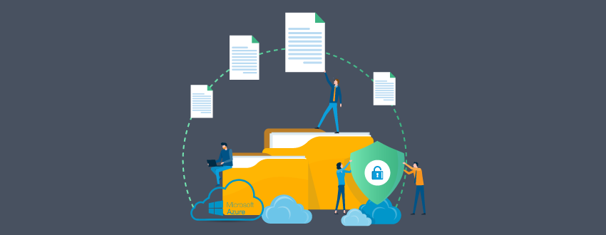Files moving between folders in Azure securely, thanks to MFT