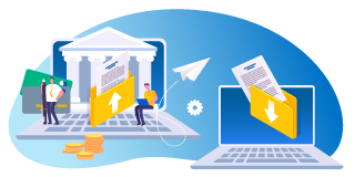 Financian organizations moving files securely with secure managed file transfer