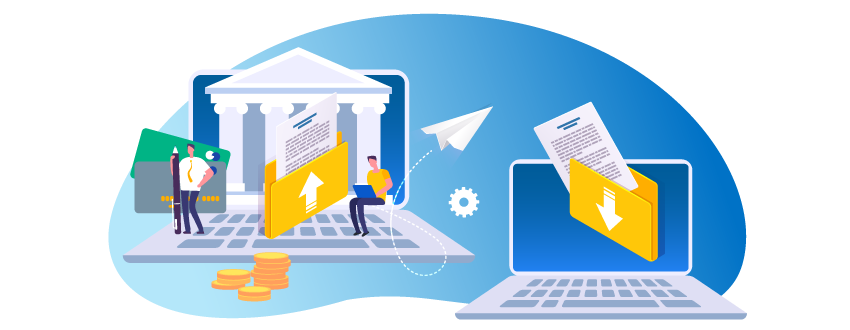 Financial organizations moving files securely with managed file transfer