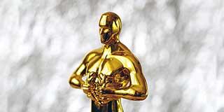 An Oscar statuette celebrating GoAnywhere MFT winning Best MFT Software