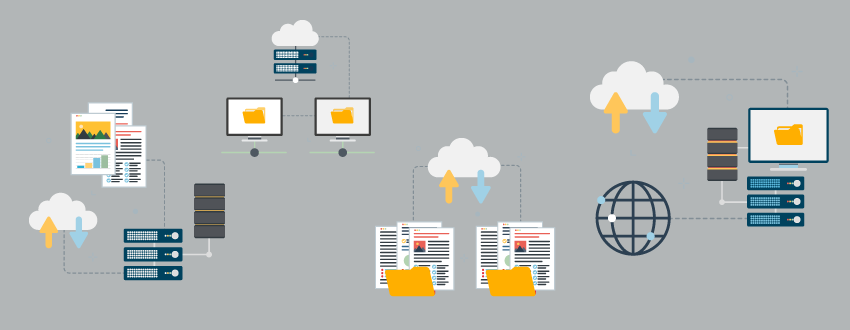 The cloud, SaaS, and on-premise file transfer