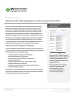 GoAnywhere MFT PCI DSS Compliance Guide
