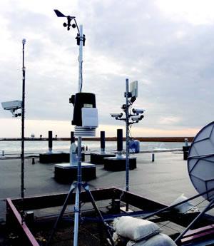 University of Cincinnati Weather data gathering