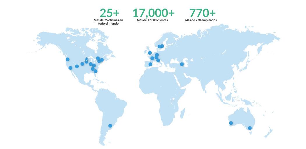Oficinas de HelpSystems en el mundo