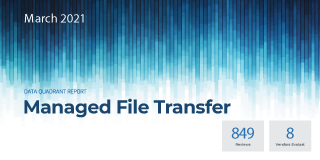 Info-Tech File Transfer Category Report and MFT Review: GoAnywhere MFT, Progress MOVEit, IBM MFT, and more.